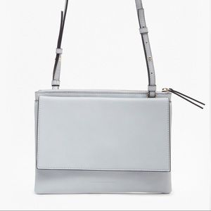 FRENCH CONNECTION Callie Trio Light GRAY Crossbody